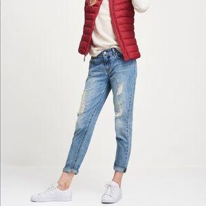 Gap Sexy Boyfriend Ankle Jeans